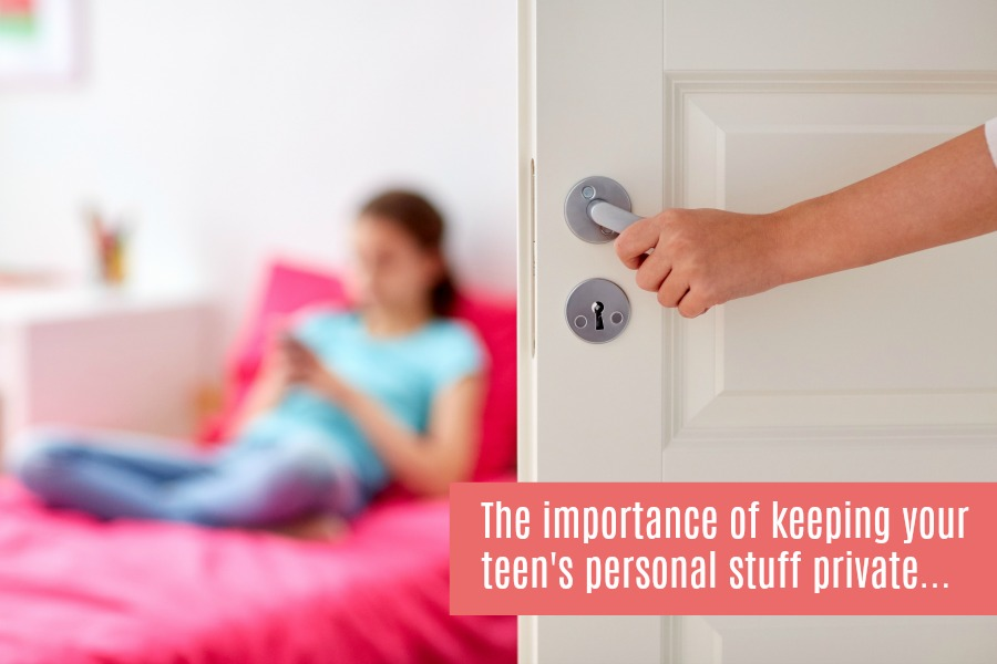keeping your teens personal stuff private