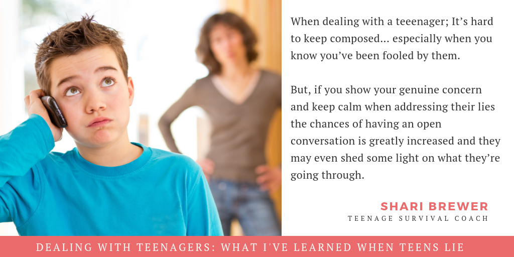 Dealing With Teenagers: What I've Learned When Teens Lie